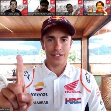 Marc Marquez dan Pol Espargaro Dukung Kegiatan Positif Komunitas Honda di Indonesia