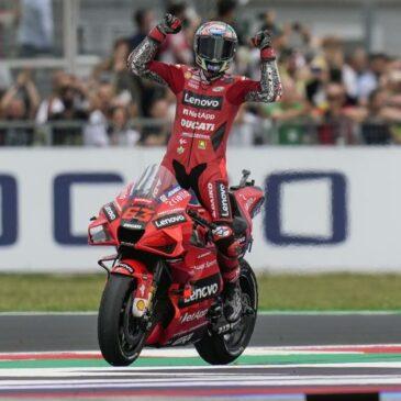 Pecco Bagnaia Penuhi Harapan Kemenangan Back-to-Back di San Marino dan Semakin Dekat Menyalip Quartararo dari Puncak