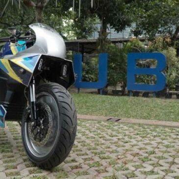 Motor Listrik Karya Tim Universitas Budi Luhur Cetak Rekor